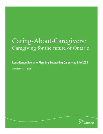 Caring-About-Caregivers - the Conference.ca