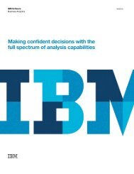 IBM Cognos Business Intelligence Analysis ... - nexDimension