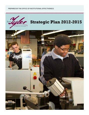 Strategic Plan 2012-2015 - John Tyler Community College