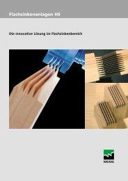 GRECON-Hochleistungs-Flachzinkenanlagen HS - Weinig