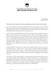 press release_Janez Jansa-051206 - Glas Slovenije
