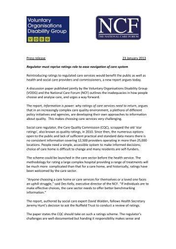 Download Press Release - VODG