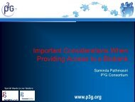 Important Considerations when Providing Access to a Biobank - P3G