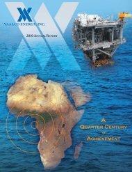 2010 Annual Report - VAALCO Energy, Inc.