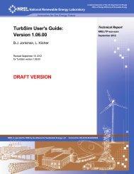 TurbSim User's Guide: Version 1.06.00 - NREL