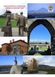 Annual Report 2012 (PDF 8MB) - Mayo County Council