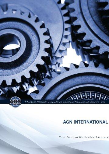 Accessing Global kNowledge - AGN International Ltd.