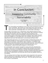 Conclusion, 197kb pdf - The Minnesota Project