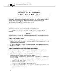 R&R K Opleiding (in pdf formaat) - faculteit Technische Natuurkunde