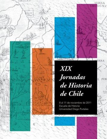 XIX Jornadas de Historia de Chile - Universidad Diego Portales