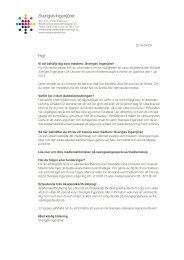 Påminnelsebrev till medlemmar med akademikerföringen - Sveriges ...