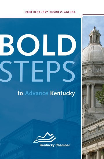 The Legislative Agenda - Kentucky Chamber of Commerce