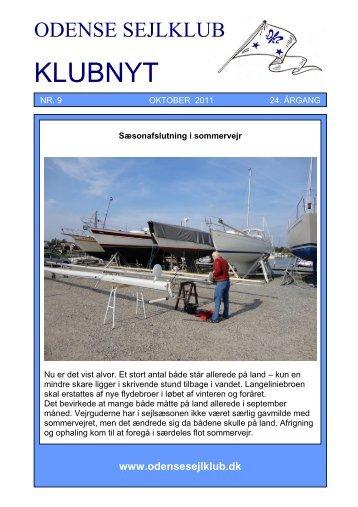 Oktober - Odense Sejlklub