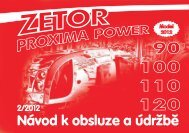 Proxima Power 2012 CZ.pdf - CALS servis sro