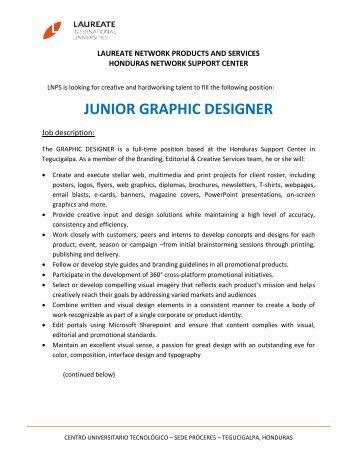 Junior Graphic Designer.pdf - My Laureate