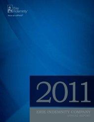 2011 - Erie Insurance
