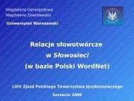 PTJ LXIV - Uniwersytet Warszawski