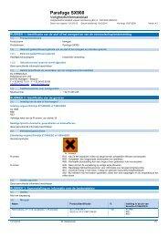 Parafuge SX900 - DL Chemicals
