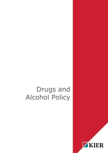 drugs and alcohol policy pdf