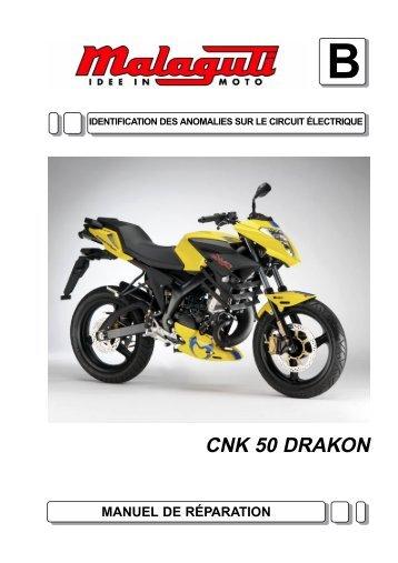 M0002 Drakon 50 Troubleshooting - Malaguti
