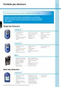 Honeywell Analytics Gas Detection Product Guide - Beta Instruments - Page 6