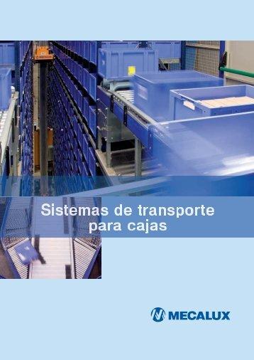 Transportador Cajas MEX - Logismarket, el Directorio Industrial