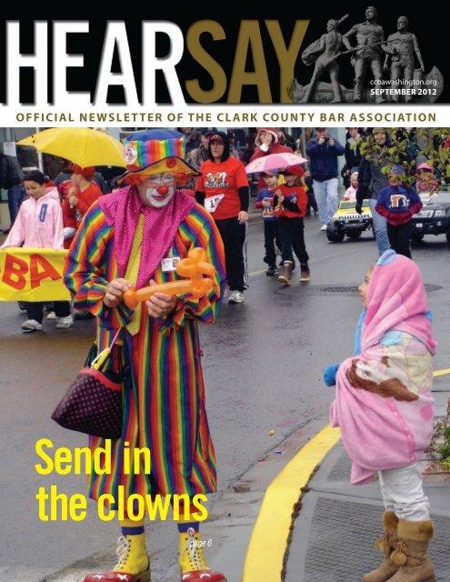 Send in the Clowns - Clark County Bar Association