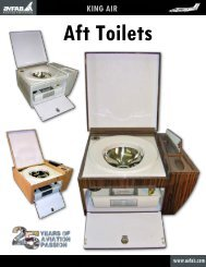 King Air Aft Toilets Catalog