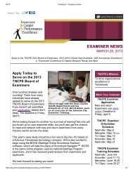 March 28 2013 BoE Newsletter.pdf - Tennessee Center for ...