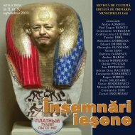 seria a treia, an II, nr. 9, septembrie 2010 - Insemnari Iesene