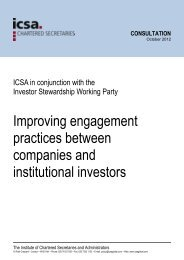 Download the Improving Engagement Practices between companies and ...