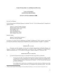 Sentencia de la Corte Interamericana de Derechos ... - Acnur