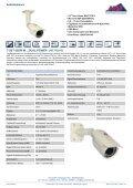 Datenblattsammlung ITS CCTV - IP CCTV GmbH - Page 4