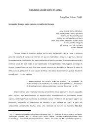 Discursos e lugares sociais da família, por Cynara Maria Andrade ...