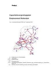 Capaciteitsvergrotingsplan Emplacement Rotterdam - ProRail