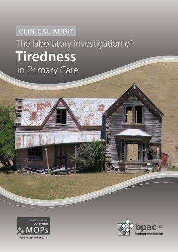 Tiredness - Bpac.org.nz