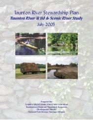 Stewardship Plan - Taunton River Watershed Alliance