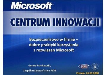Bezpieczeństwo w firmie - Szkolenia - Poznań