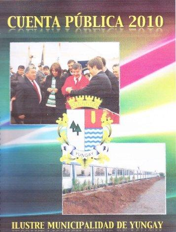 Cuenta Pública 2010 - Municipalidad de Yungay