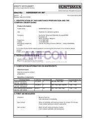 Ident-No: HARDENER HV 997 - AMI-CON