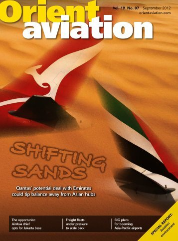 SHIFTING SANDS - Orient Aviation