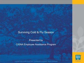 Surviving Cold & Flu Season - Bendix