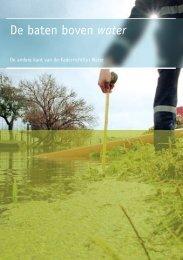 De baten boven water - Milieufederatie Limburg