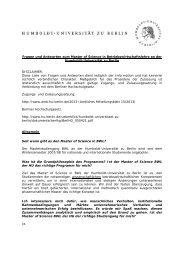 Fragen und Antworten - Wirtschaftswissenschaftliche Fakultät ...