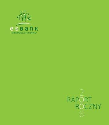 Raport Roczny 2008 - ESBank