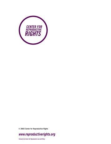 Ferguson v. City of Charleston - Center for Reproductive Rights