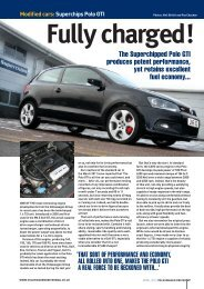 Modified cars:Superchips Polo GTI