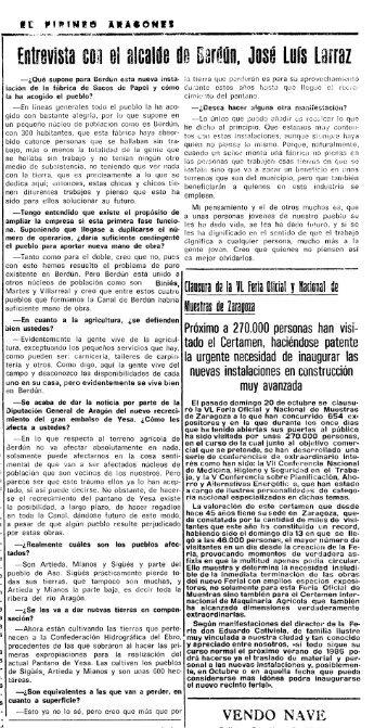 El Pirineo Aragonés - Yesa no