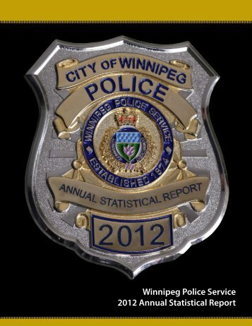 2012 WPS Annual Report (pdf) - City of Winnipeg