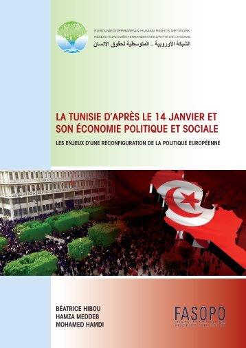 LA TUNISIE D'APRèS LE 14 JANVIER ET SON ... - Refworld
